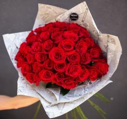 Buket 101 crvena ruža