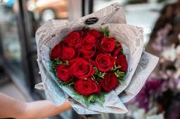 Buket 13 EKV crvenih  ruža