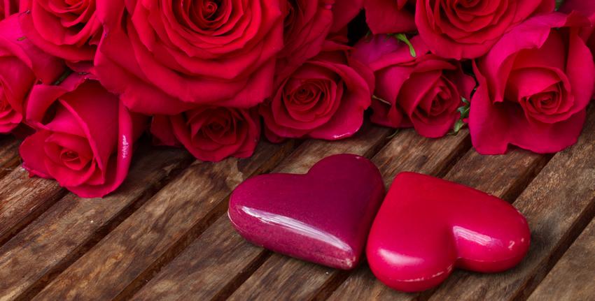 Buket ruža je idealna poklon za zaljubljene