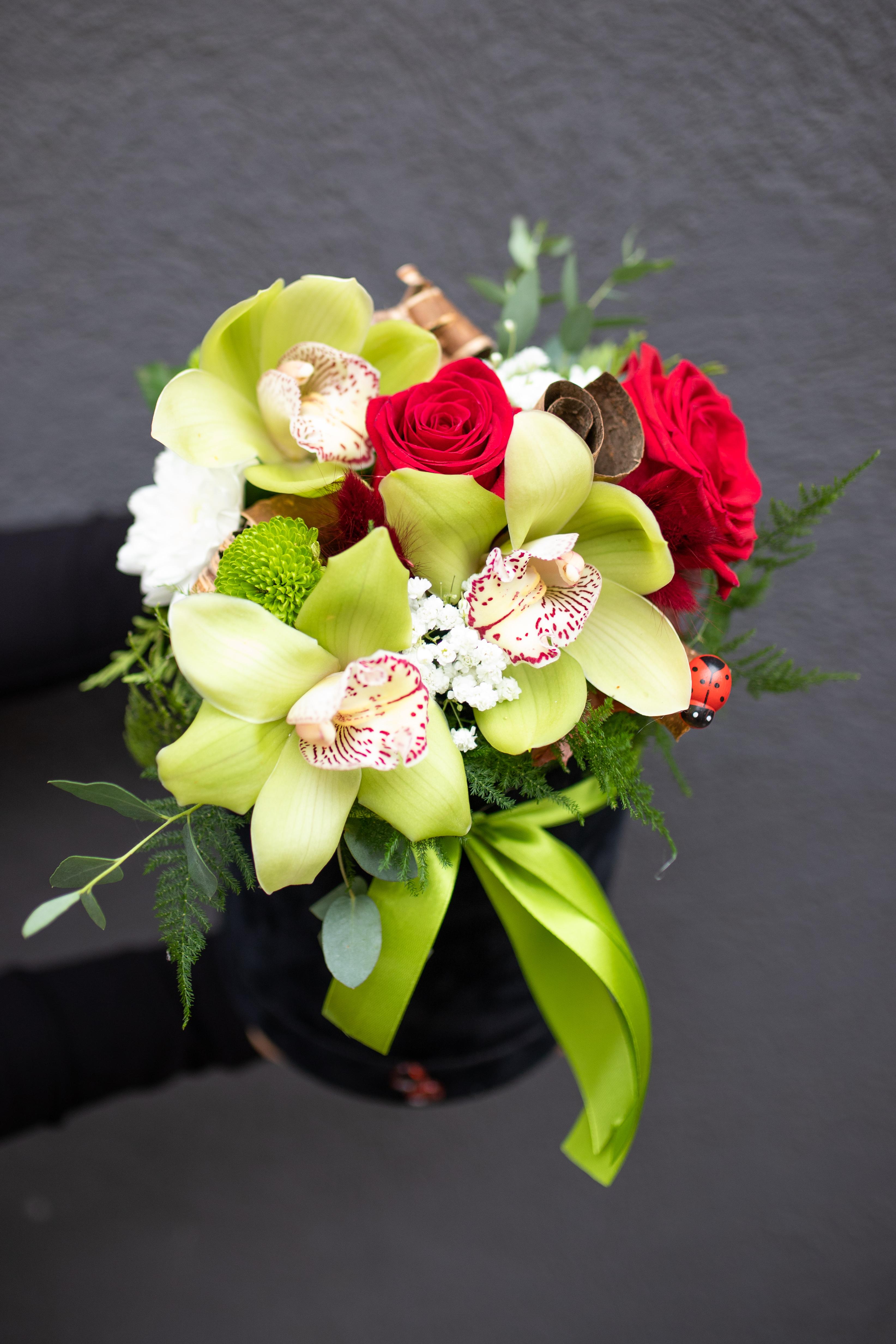 Box tri Orhideje i ruže