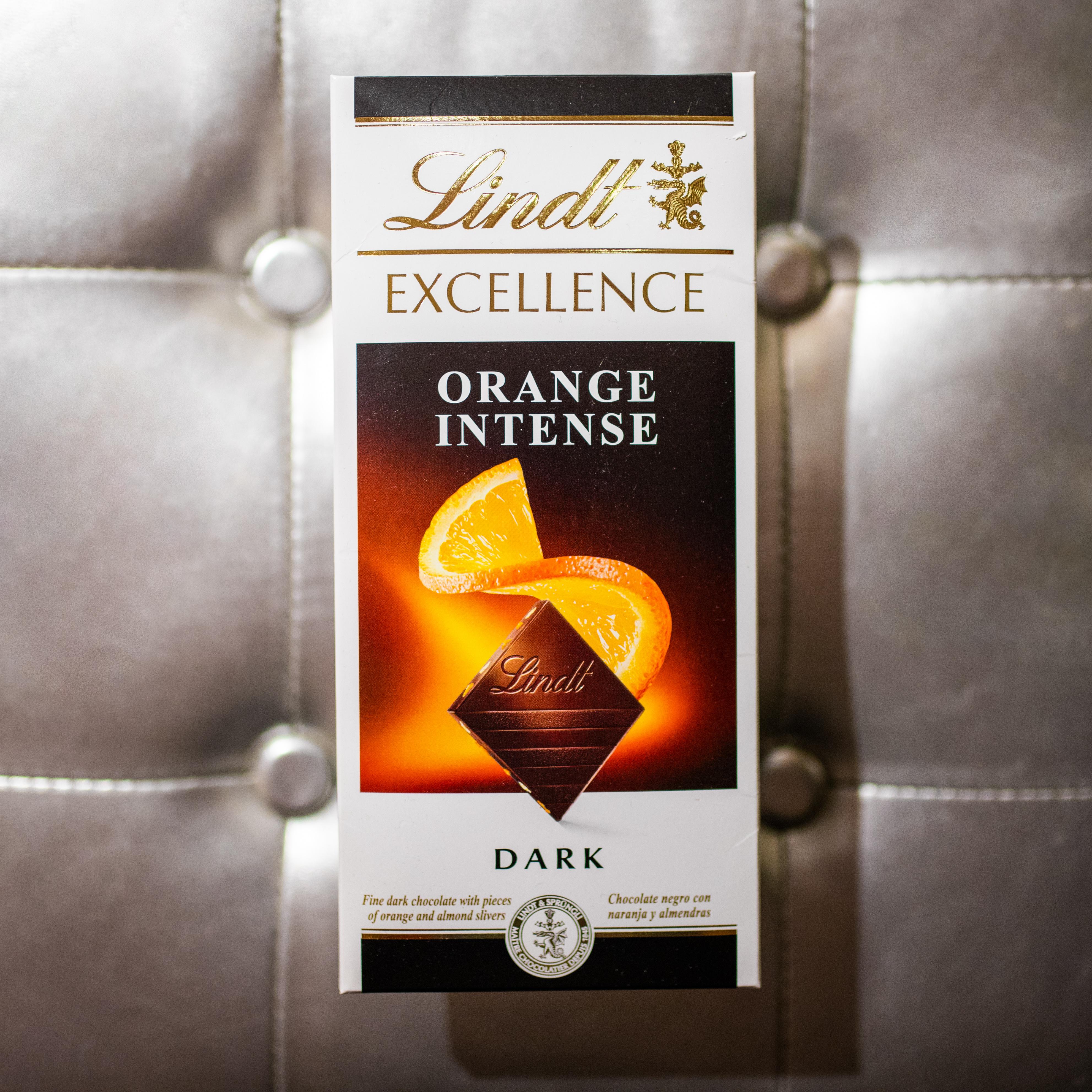 Lindt crna čokolada sa narandžom