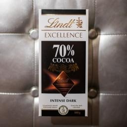 LINDT crna čokolada 70%
