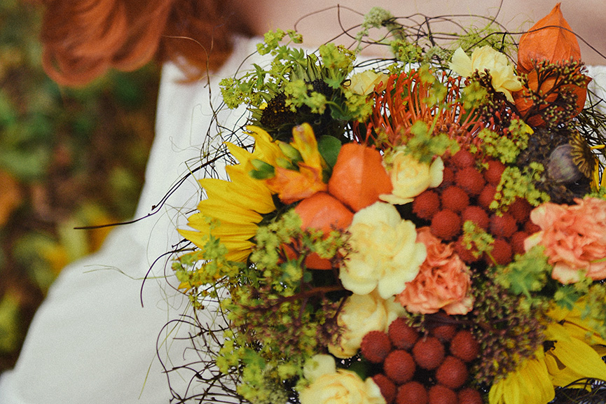 Najlepši jesenji buket od prirodnog cveća